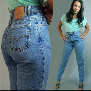 Vintage 501 High Waist Jeans